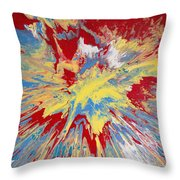 Forces Of Gravity Throw Pillow