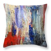 Untitled Abstract #5 Throw Pillow