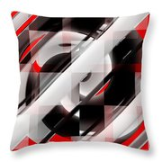 Untitled X Throw Pillow