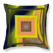 Untitled Xii Throw Pillow
