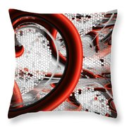 Untitled Xvi Throw Pillow