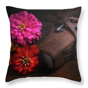Untold Secrets Throw Pillow