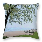 Try And Catch The Wind Throw Pillow