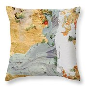 Untrained Reality Throw Pillow