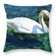 Unusual Beauty Throw Pillow