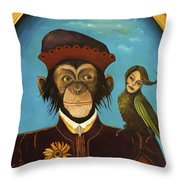Unusual Pet Throw Pillow