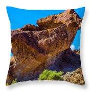 Unusual Rock California Throw Pillow