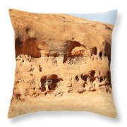 Unusual Rock Formation Throw Pillow