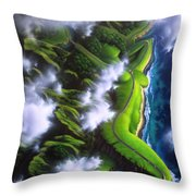 Unveiled Throw Pillow by Jerry LoFaro