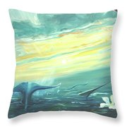 Unveiling The Daystar Throw Pillow