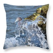 Unwavering Throw Pillow