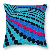 Up Across And Back Throw Pillow