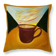 Up All Night Throw Pillow