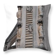 Up And Down Jacobs Ladder Throw Pillow