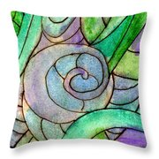 Up Close In The Garden Throw Pillow