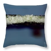 Up Close To The Ocean Throw Pillow