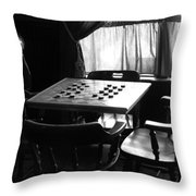 Up For A Game? Throw Pillow