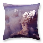 Up In Smoke.. Socal Style Throw Pillow