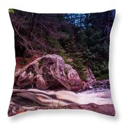 Up Nort' Throw Pillow