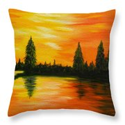 Up North Throw Pillow