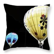 Up On The Air Throw Pillow
