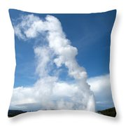 Up Rising Throw Pillow