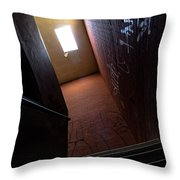 Up The Stairs Throw Pillow