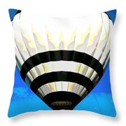Up, Up And Away... Throw Pillow