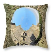 Upavon Church Throw Pillow