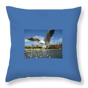Upclose And Personal Throw Pillow