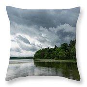Upcoming Storm Throw Pillow