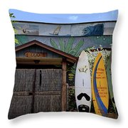 Upcountry Boards Throw Pillow
