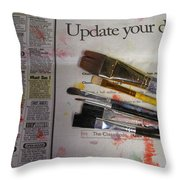 Update Your Decor Throw Pillow
