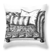 Upholstered Throw Pillow