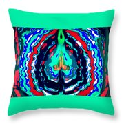 Uplifting Throw Pillow by Karunita Kapoor