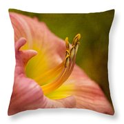 Uplifting Lily Throw Pillow