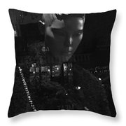 Upon A Winter's Day Throw Pillow