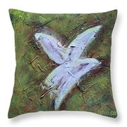 Upon Angels Wings Of Change Throw Pillow