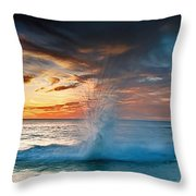 Upon Day's End Throw Pillow