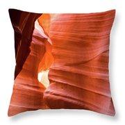 Upper Antelope Canyon 4 Throw Pillow