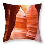 Upper Antelope Canyon 5 Throw Pillow