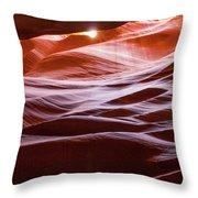 Upper Antelope Canyon 6 Throw Pillow