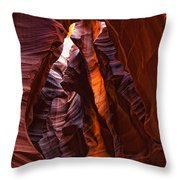 Upper Antelope Canyon, Arizona Throw Pillow