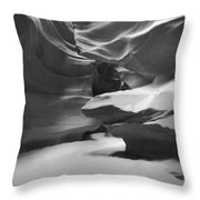 Upper Antelope Chamber Throw Pillow