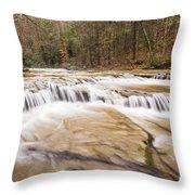 Upper Campbell Falls Throw Pillow