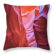 Upper Canyon 31 Throw Pillow