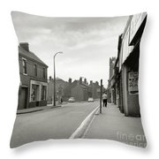 Upper High Street, Lye - 1960's    Ref-63 Throw Pillow