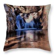 Upper Jemez Falls New Mexico Throw Pillow