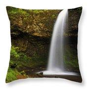 Upper Latourelle Falls Throw Pillow