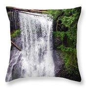 Upper North Falls 2 Throw Pillow